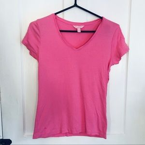 Lily Pulitzer pink cotton short sleeve T-shirt
